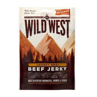 Wild West Honey BBQ Beef Jerky 25g